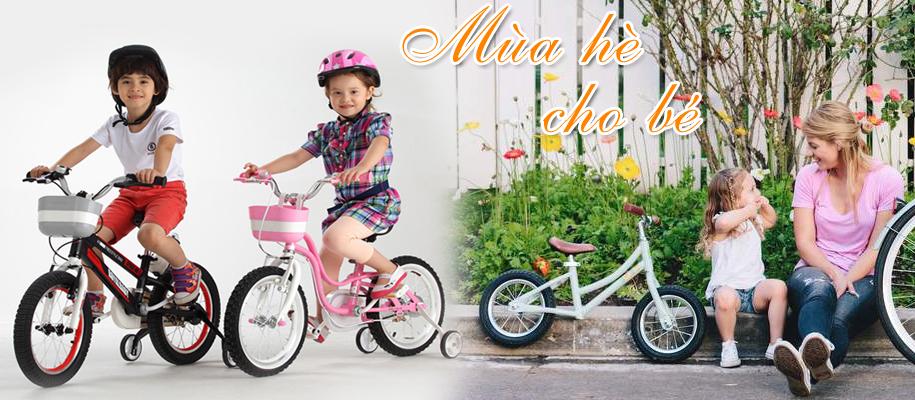 xe đạp mùa hè cho trẻ em