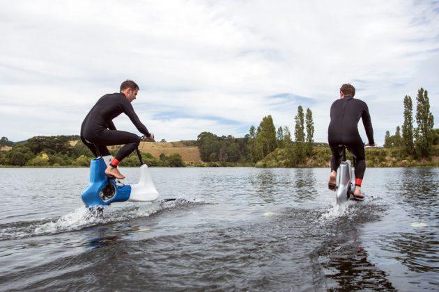 Xe đạp trên mặt nước ở New Zealand ra mắt
