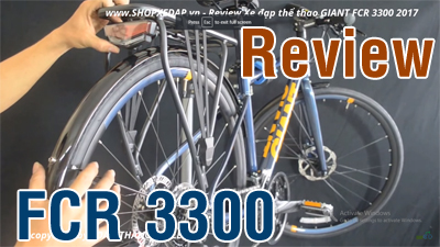 Review xe đạp touring Giant FCR 3300 2017