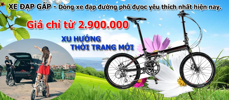 Xe đạp gấp/ xếp