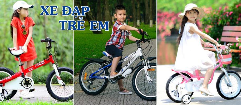 Xe đạp trẻ em 5,6,7,8 tuổi vành 18 inch
