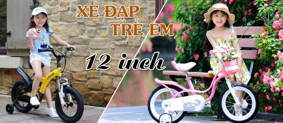 Xe đạp trẻ em 12 inch từ 2,3,4 tuổi