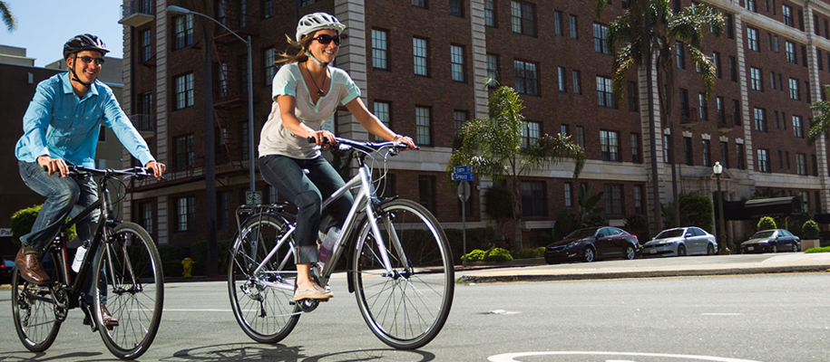 Xe đạp thể thao thành phố - xe dap city