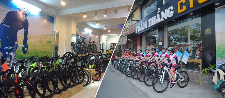 Xe đạp nhập khẩu chính hãng