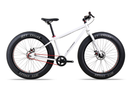 Xe đạp Fat Bike Jett Duke White 2016