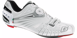 Giày xe đạp Gaerne Composite Carbon Speed Road White(Italy)