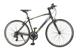 Xe đạp thể thao TRINX FREE 1.0 2016 Đen xám xanh lá