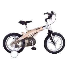 Xe đạp trẻ em LANQ FD1640 2017 Grey Yellow