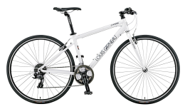 Xe đạp touring Louis Garneau LSG CHASSE White