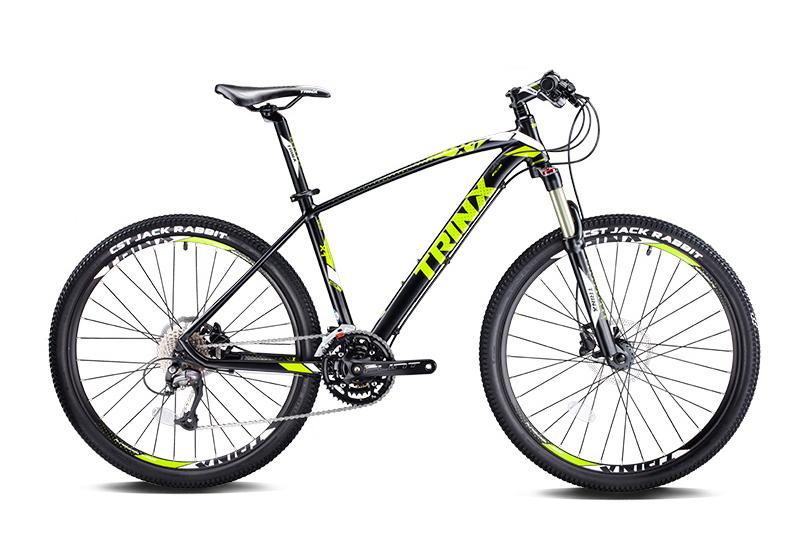 Xe đạp địa hình TRINX TX28 2017 Đen xanh lá