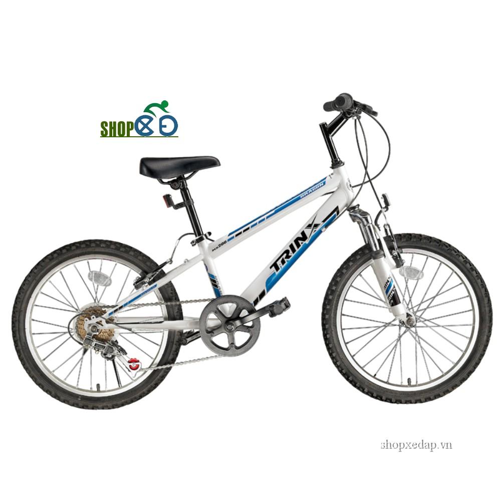 Xe đạp trẻ em TRINX MS200 màu trắng