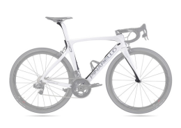 Khung Pinarello F10 165 Shiny White/Matt Carbon