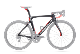 Khung Pinarello F10 167 Black/Red