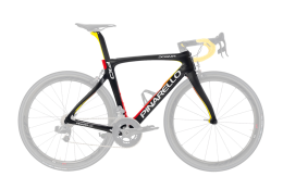 Khung Pinarello F10 202 Black Red Yellow