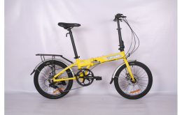 Xe đạp gấp Low Carbon GXP8 Disc 2019 Yellow Gray
