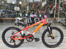 Xe đạp trẻ em TRINX JUNIOR1.0 2019 Red White Orange