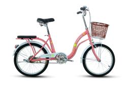 Xe đạp trẻ em Fascino FM20 Girl Hồng Trắng