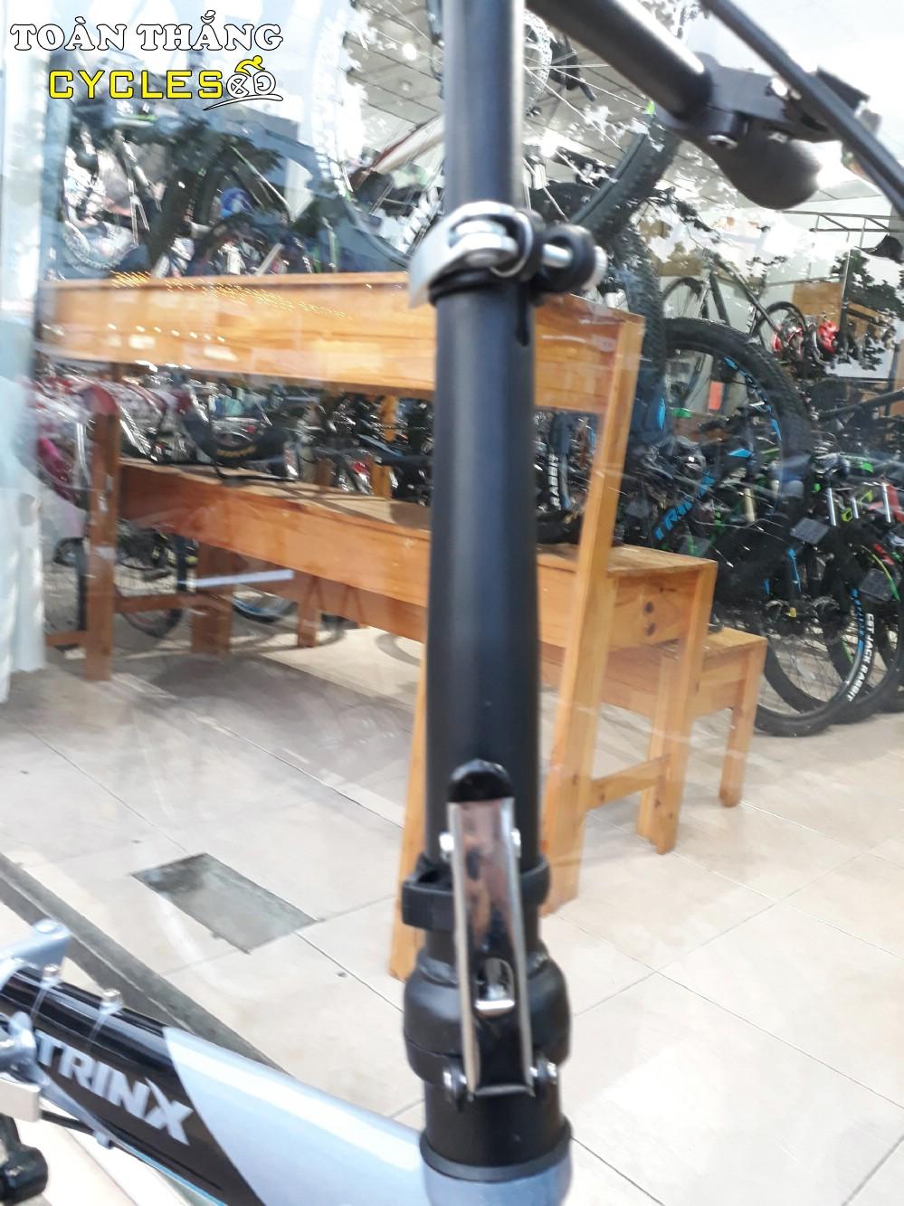 Xe đạp gấp LIFE 1.0 2018 Grey Black Blue