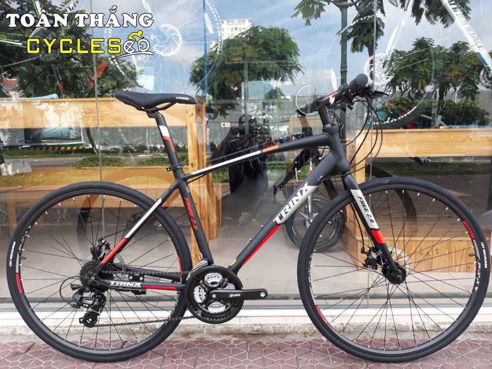 Xe đạp thể thao TRINX FREE 2.0 2018 Black Grey Red