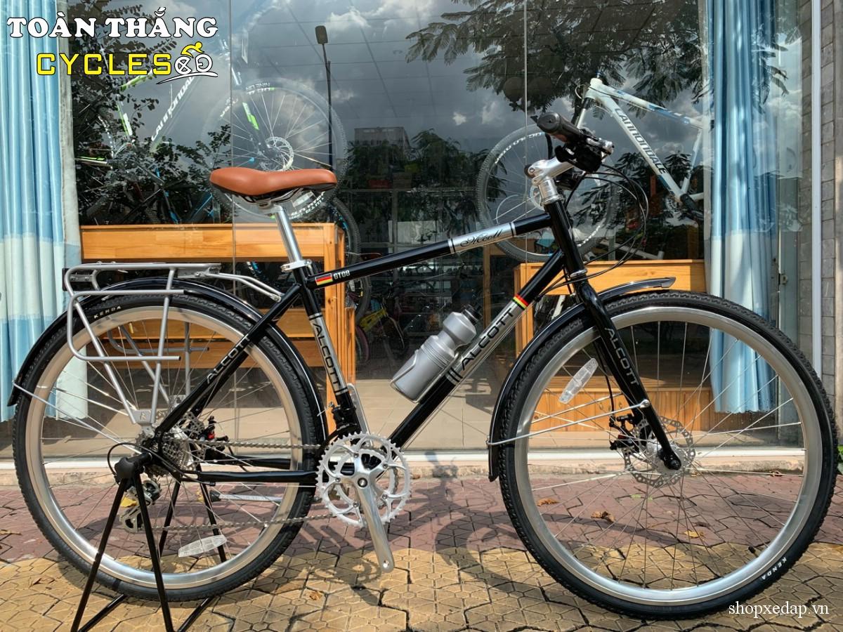 Xe đạp thể thao Alcott Classic 700 GT08 Disc Black