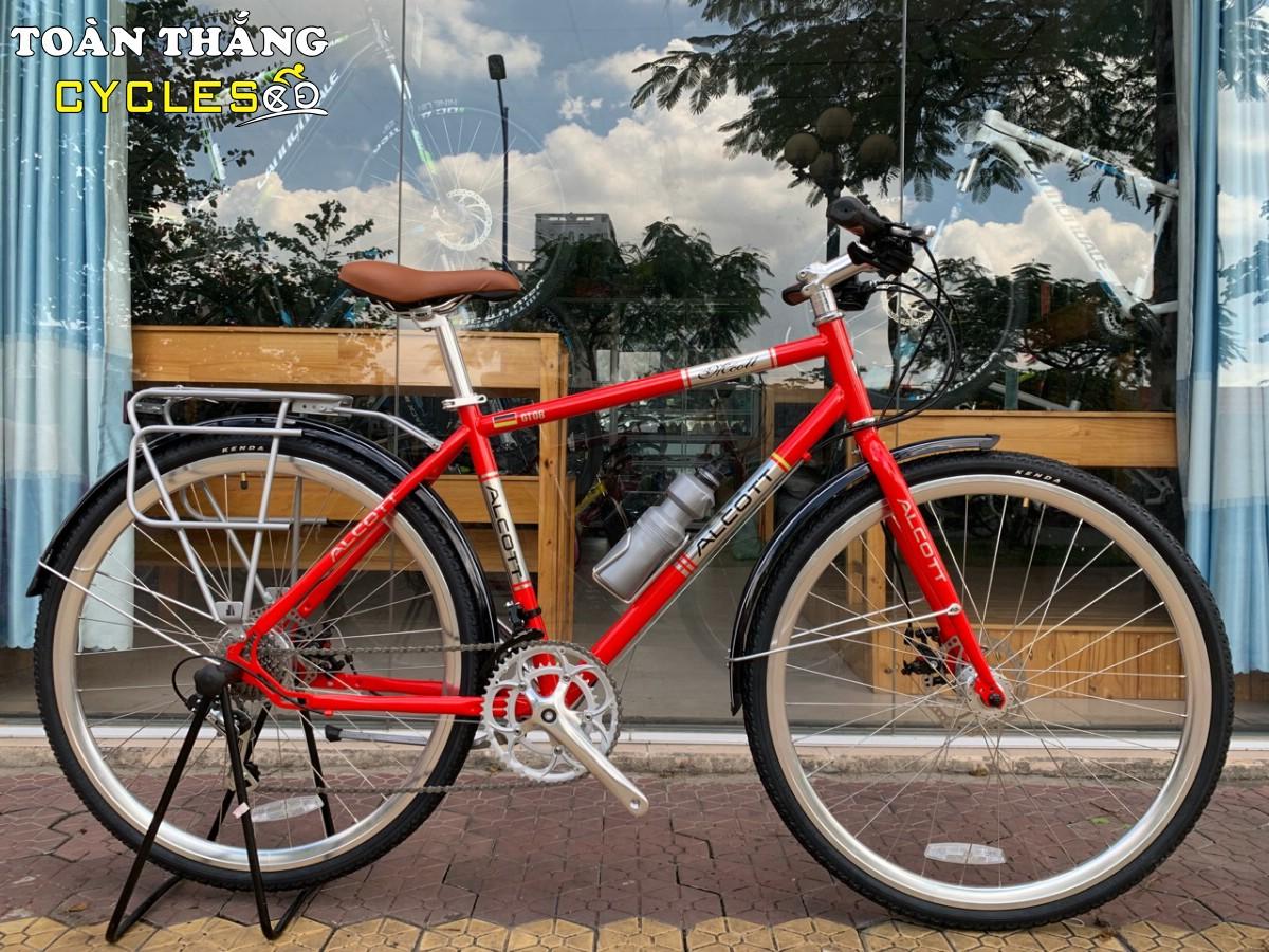Xe đạp thể thao Alcott Classic 700 GT08 Disc Red
