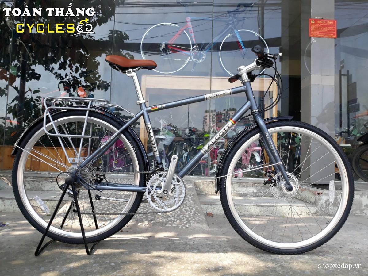 Xe đạp thể thao Alcott Classic 700 GT08 Disc Blue