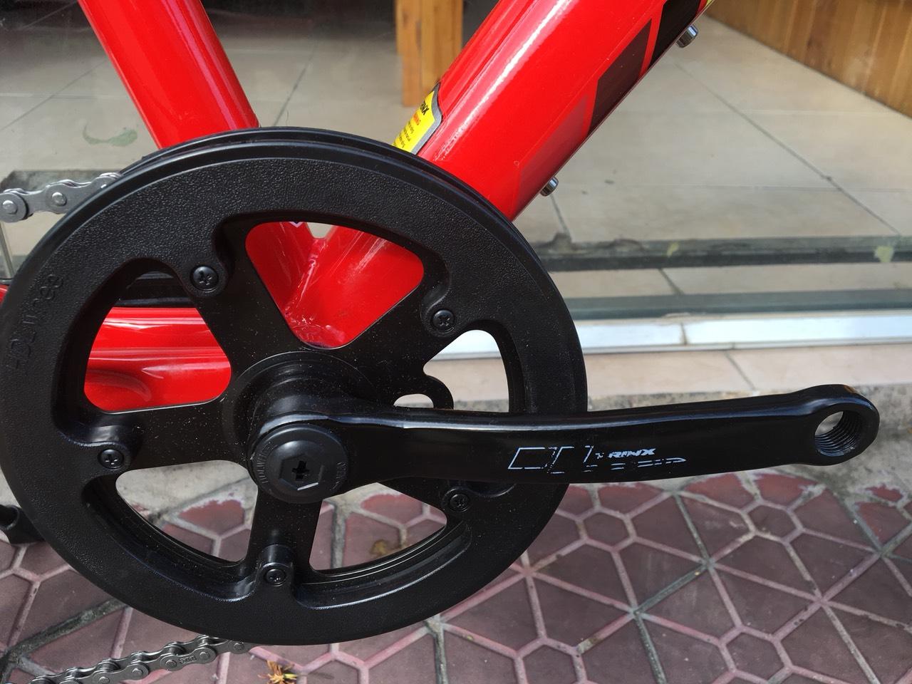 Xe đạp trẻ em TRINX JUNIOR1.0 2019 Red Yellow