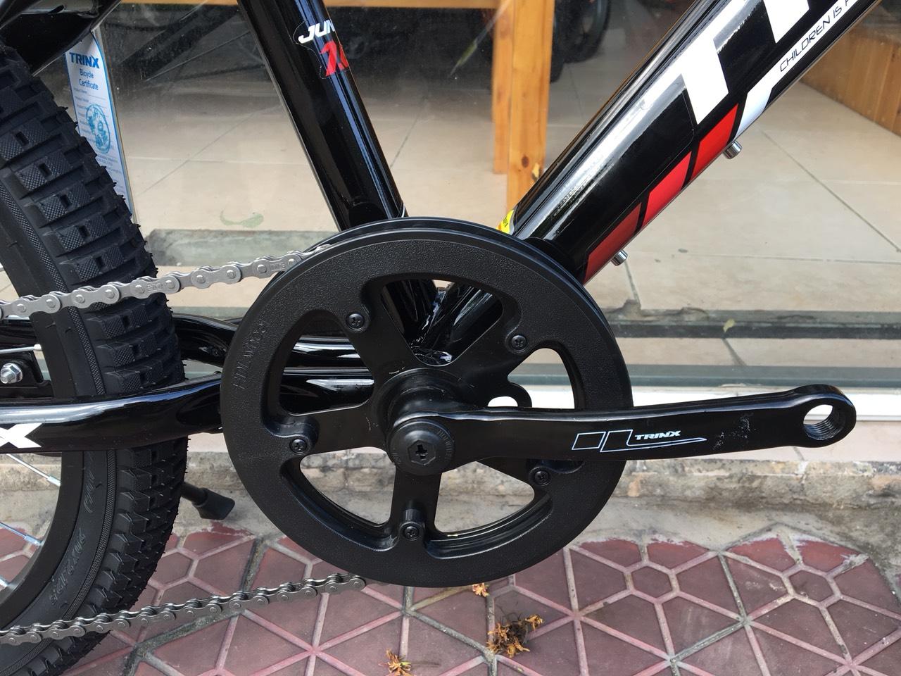 Xe đạp trẻ em TRINX JUNIOR1.0 2019 Black White Red