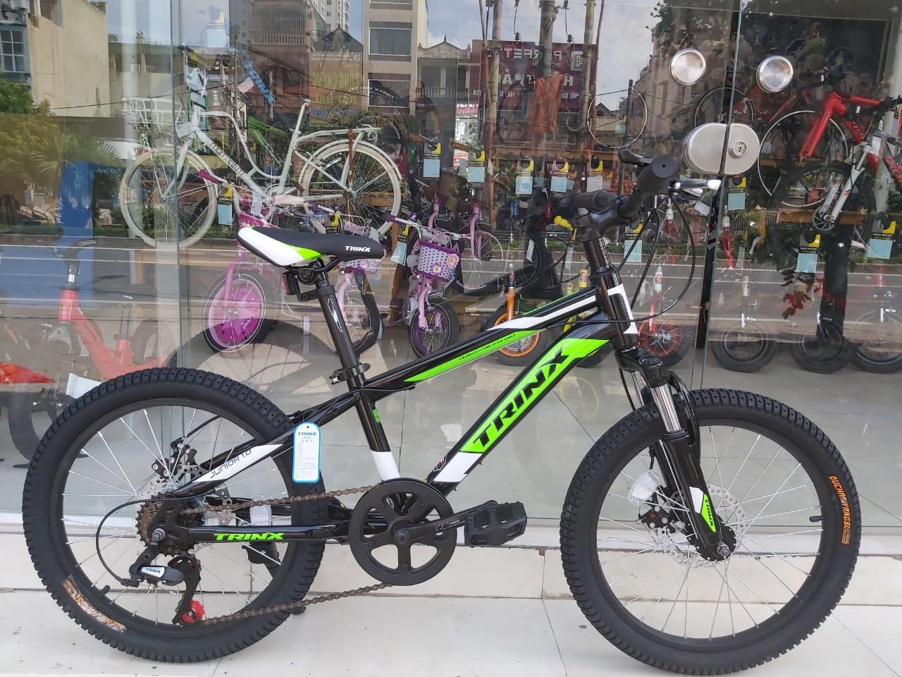 Xe đạp trẻ em TRINX JUNIOR1.0 2019 Black White Green