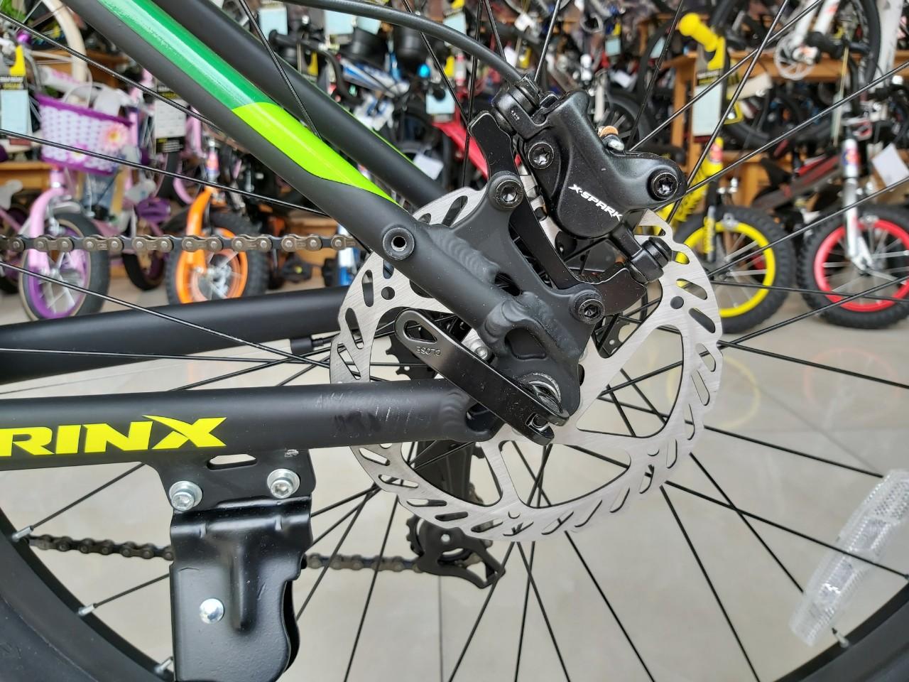 Xe đạp địa hình TRINX DVR D500 ELITE 2019 Black Yellow