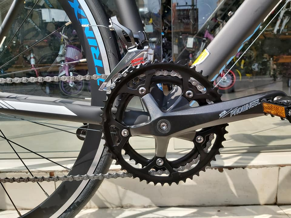 Xe đạp đua TrinX Climber 2.0 2019 Black Blue