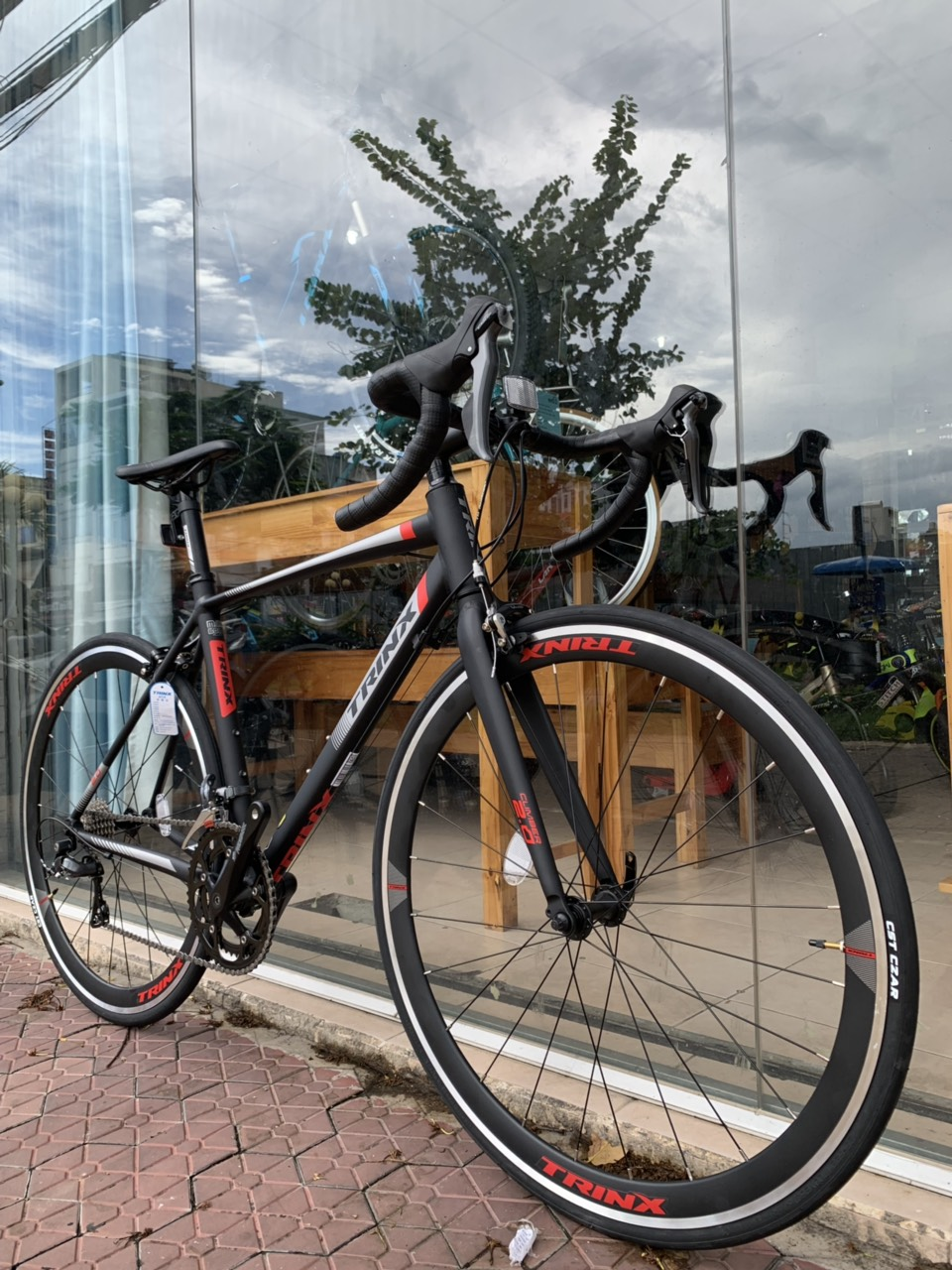 Xe đạp đua TrinX Climber 2.0 2019 Black Red