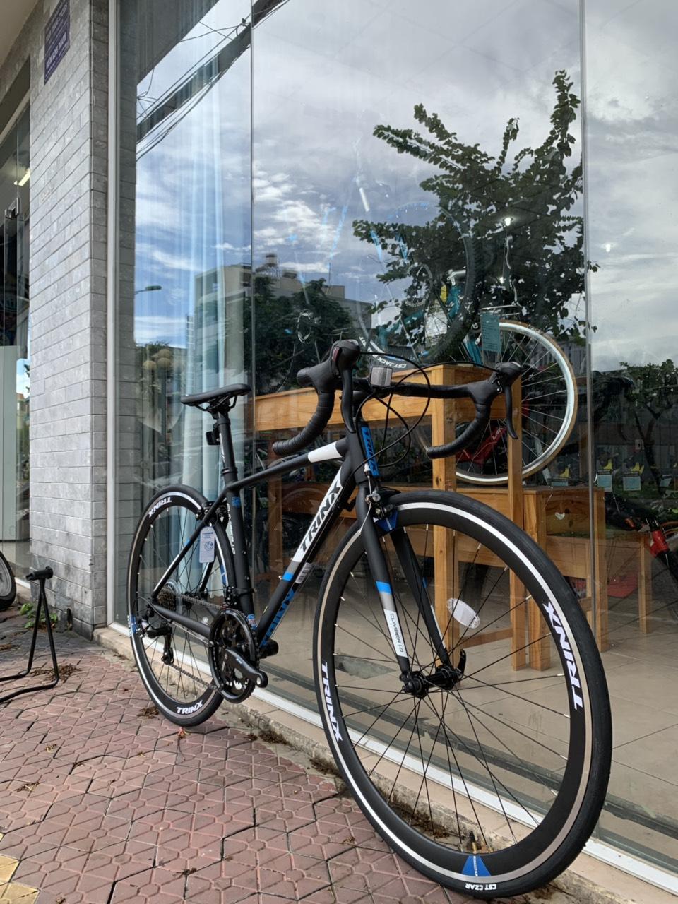 Xe đạp đua TrinX Climber 1.0 2019 Black Blue