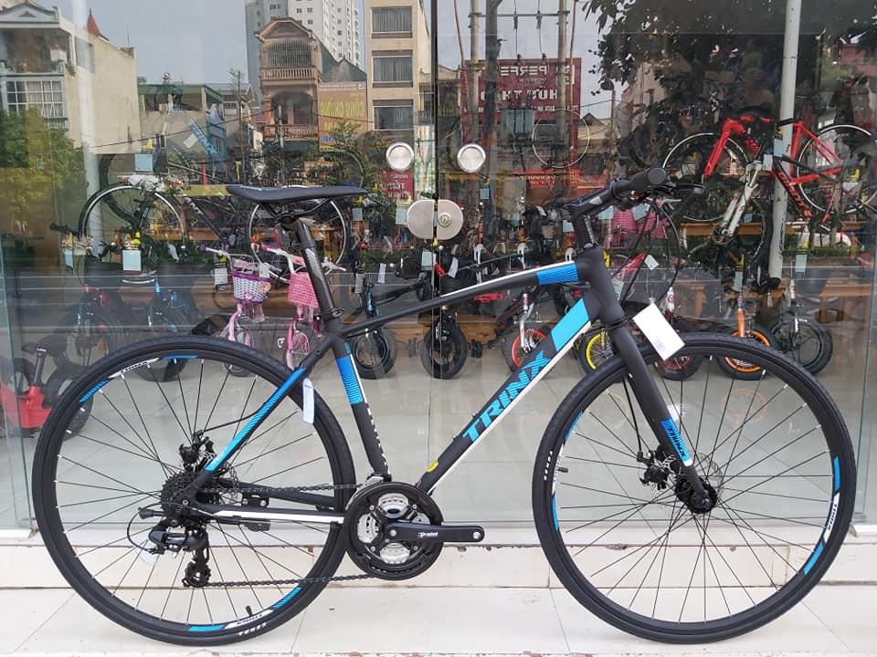 Xe đạp thể thao TRINX FREE 2.0 2019 Black White Blue