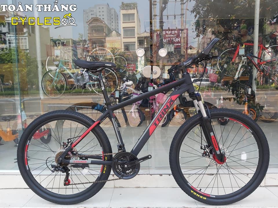 Xe đạp địa hình TrinX TX18 2019 Black Red Matt