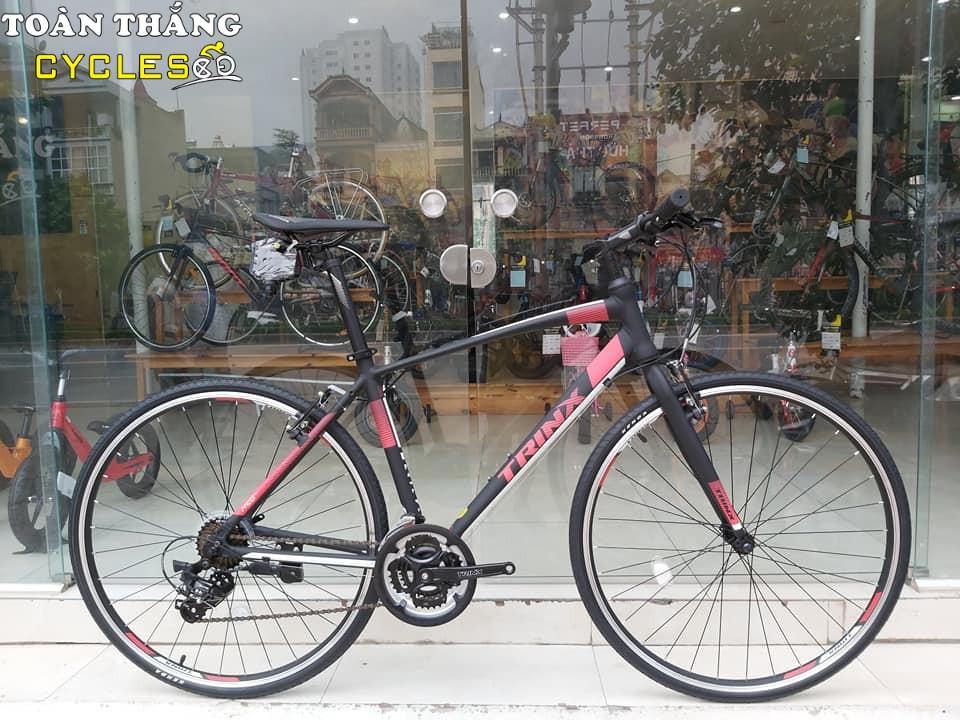 Xe đạp thể thao TRINX FREE 1.0 2019 Black White Red